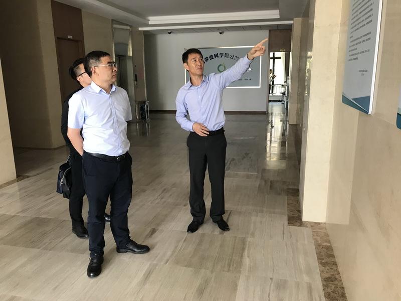 黄俊副院长一行赴浙江省农科院考察调研