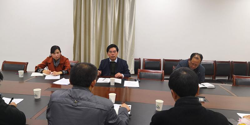 沈建新副院长到信息所开展集中整治形式主义、官僚主义调研